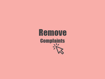 Remove Negative Complaints