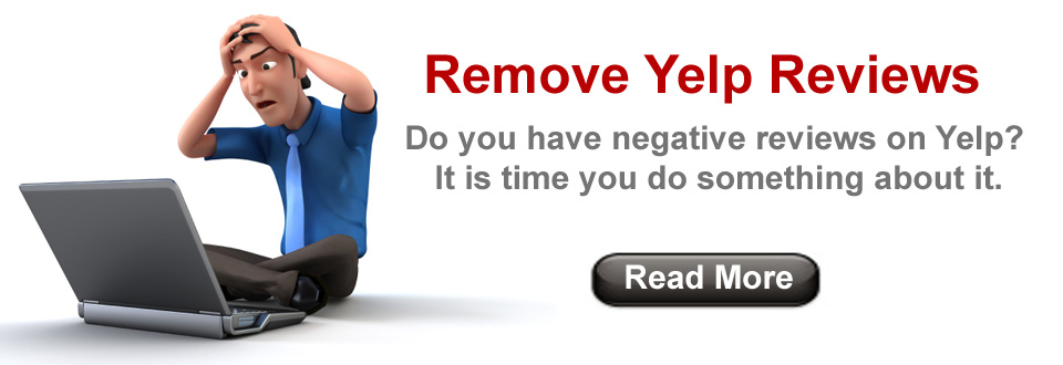 Remove Negative Reviews from Yelp